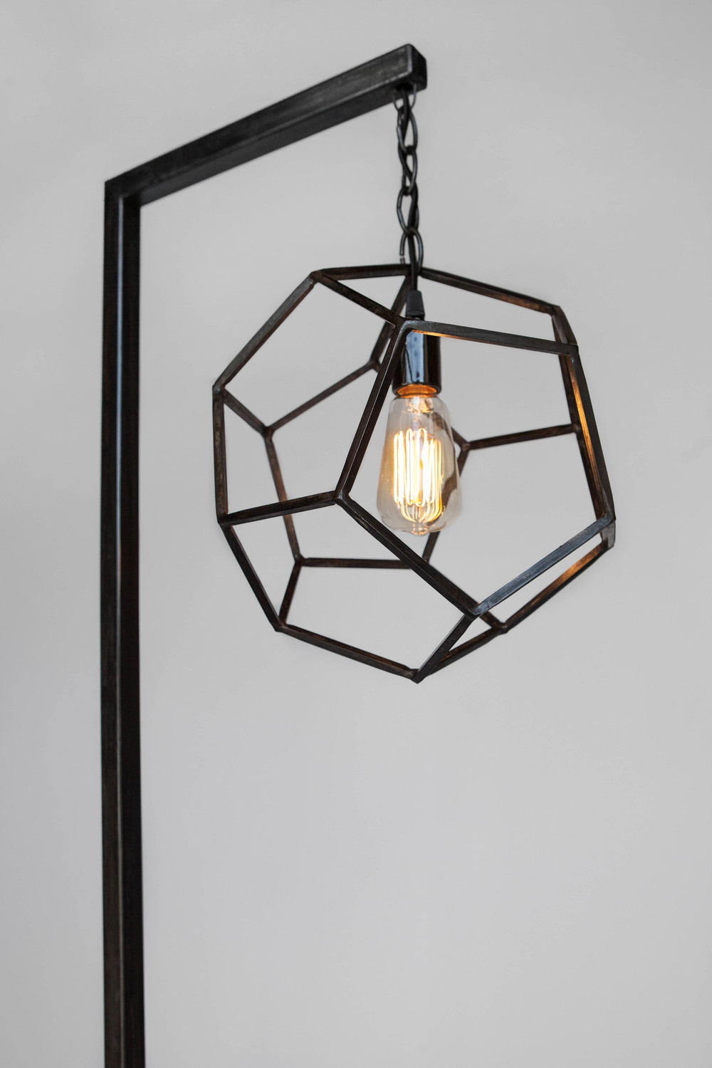 Dodecahedron floor lamp zai divecha dodecahedron floor lamp by elektra steel aloadofball Image collections