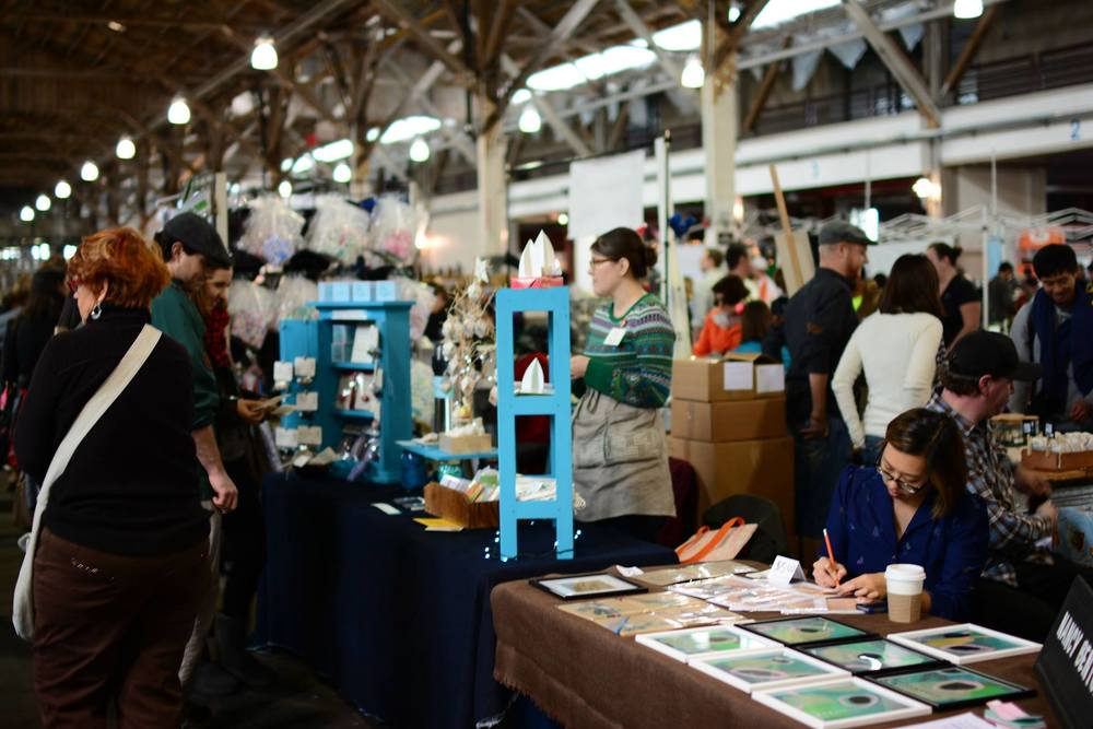 Elektra Steel will be at the SF Etsy Indie Holiday Emporium this year!  (photo credit:  SF Etsy Team )