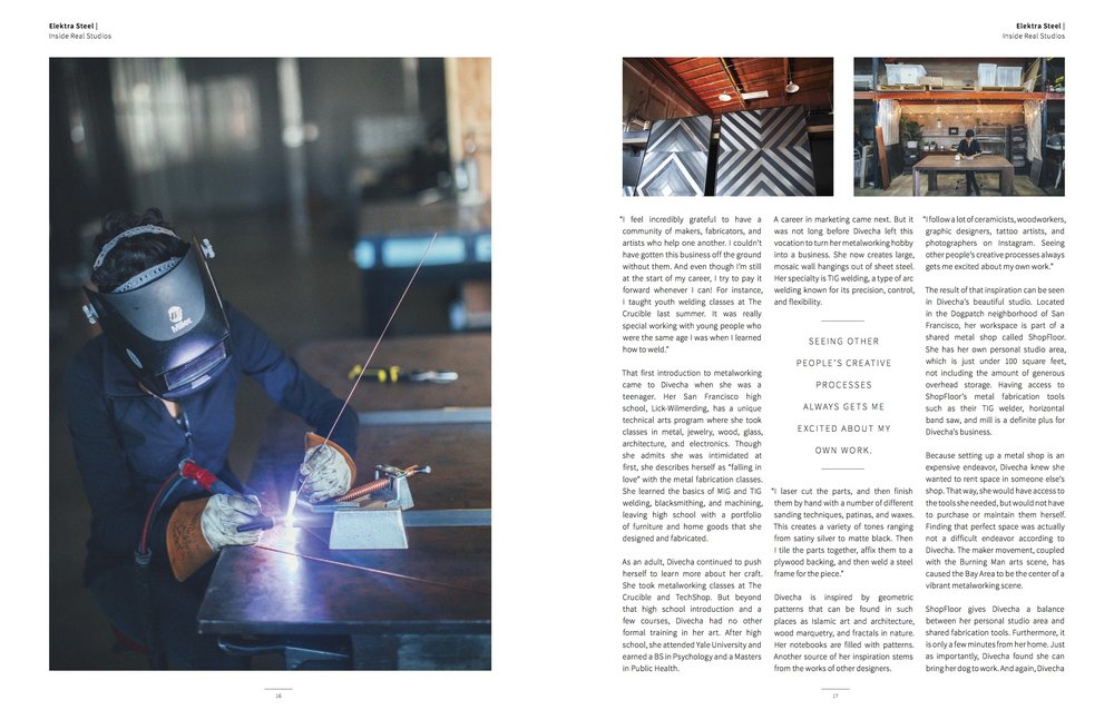Elektra Steel in AGLOW Magazine - 2.jpg