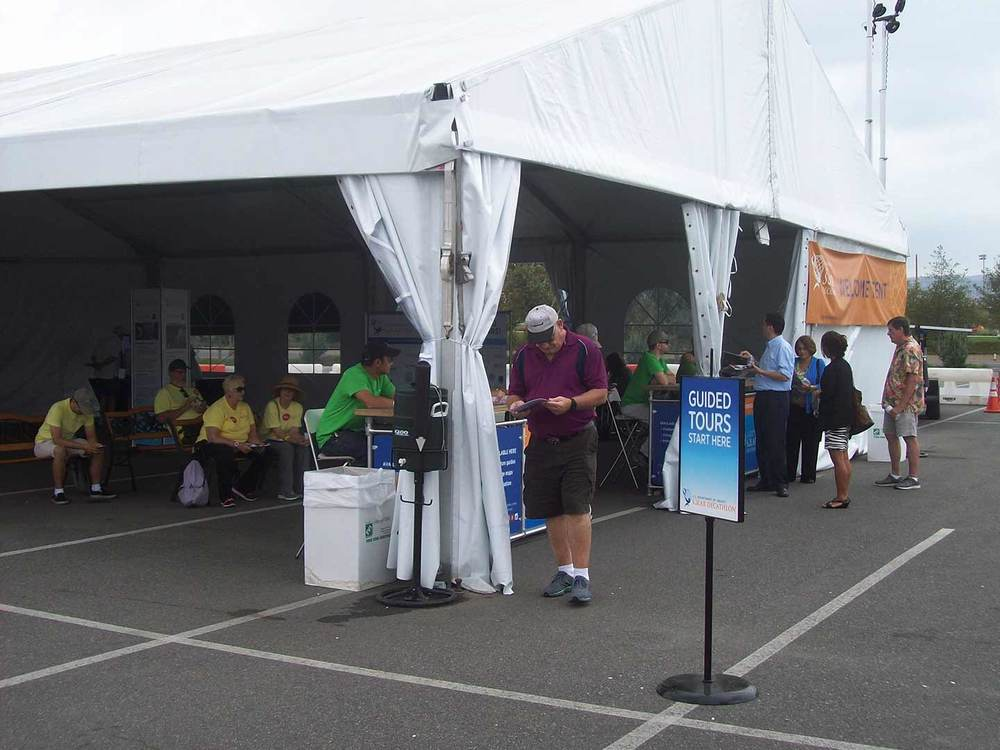 Solar Decathlon 2015  Welcome Tent