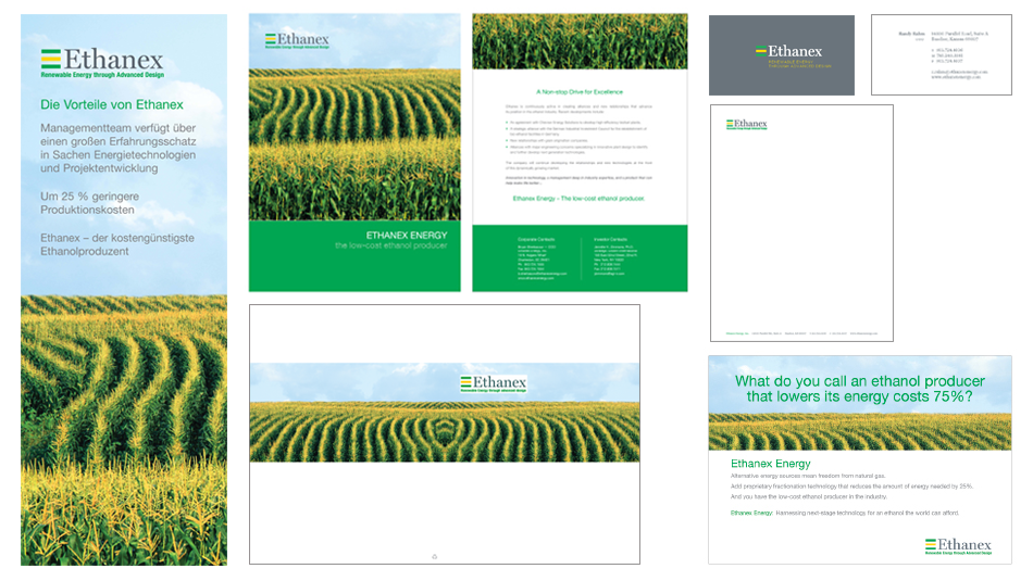 ETHANEX - GLOBAL - BANNERS, BROCHURE, FOLDER, DIGITAL EBLAST, ADS, STATIONARY