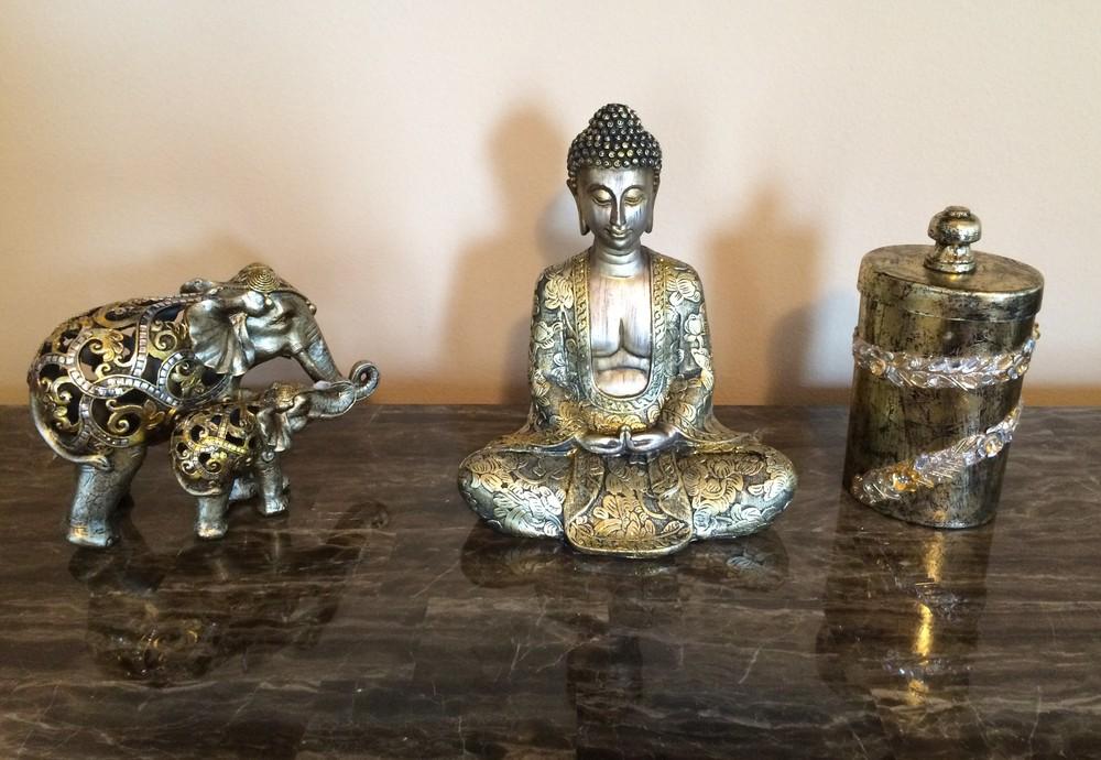 Buddha, Elephant, Gratitude Jar