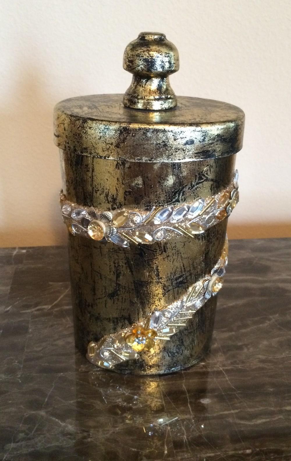 Gold Gratitude Jar