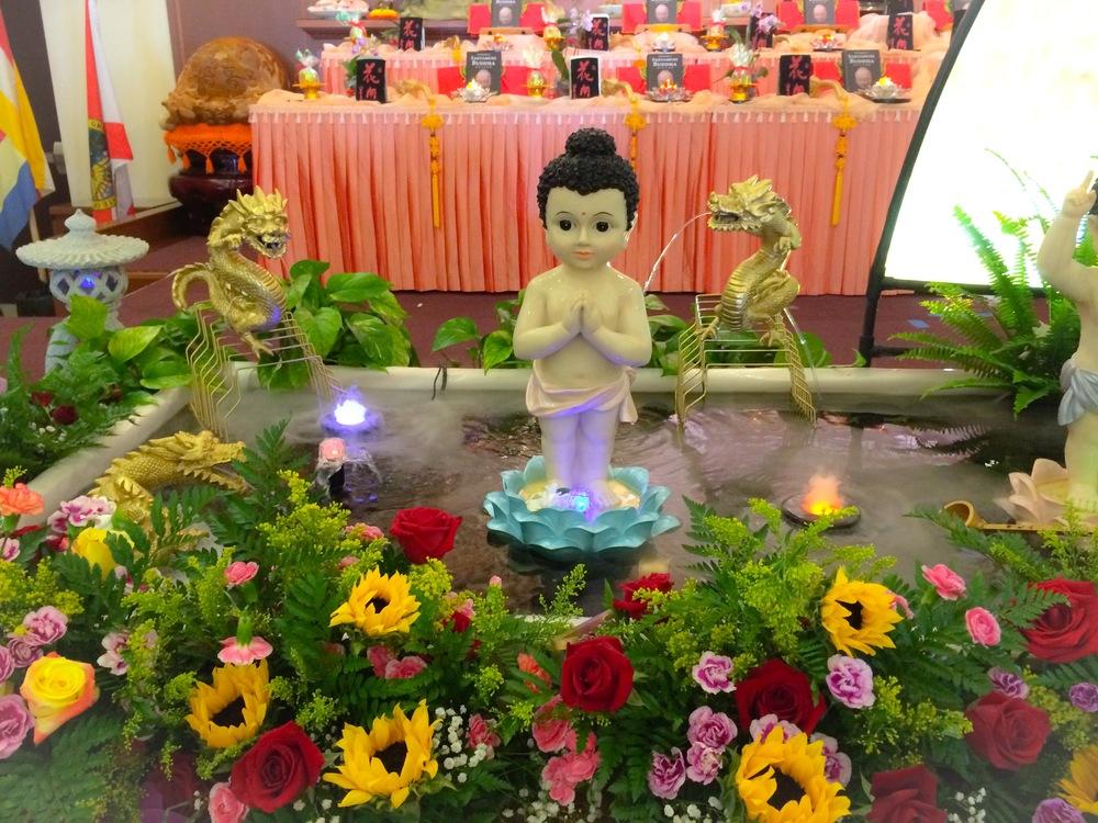 Baby Buddha Bath