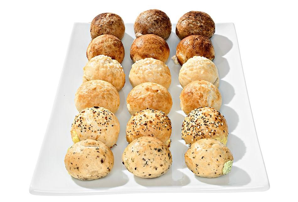 Bantam Mini Filled Bagels