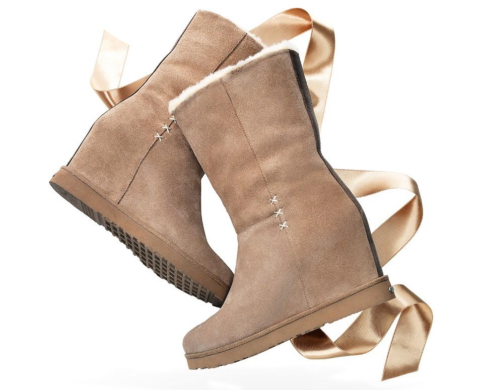 La Cienega Wedge Boots