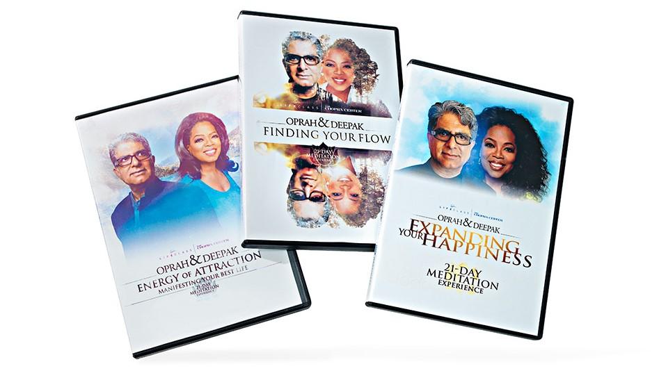 Oprah & Deepak's 21-Day Meditation Transformation Trilogy