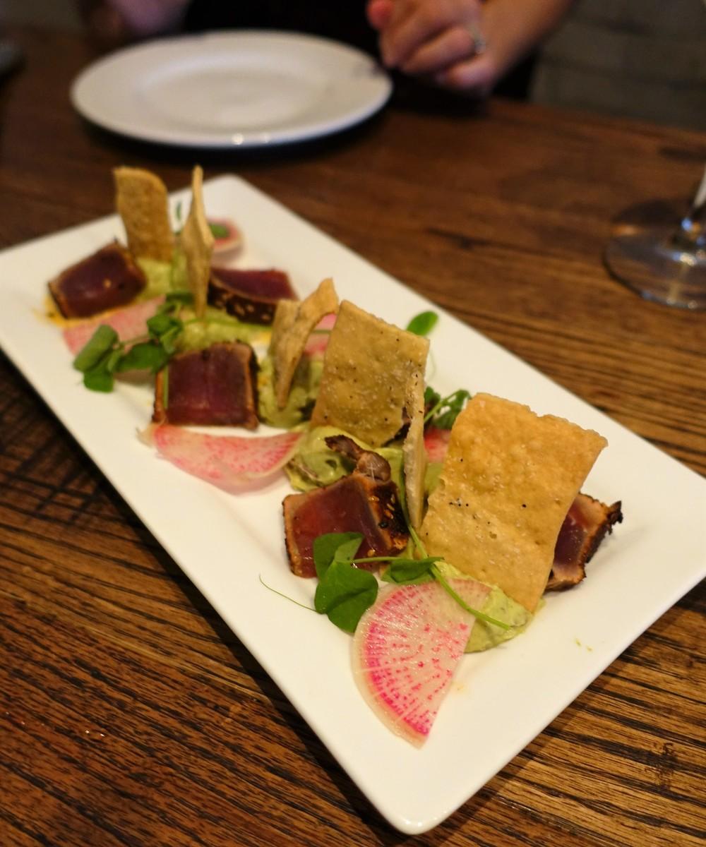 Nova Orlando- decunstructed tuna tostadas
