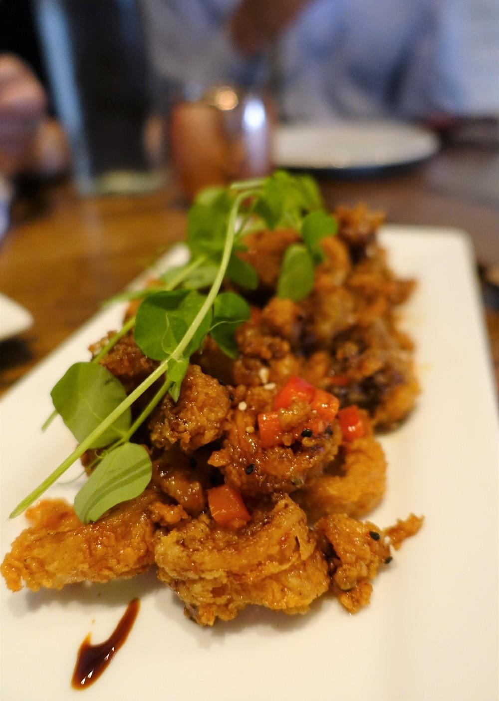 nova restaurant orlando- Sesame Crusted Calamari
