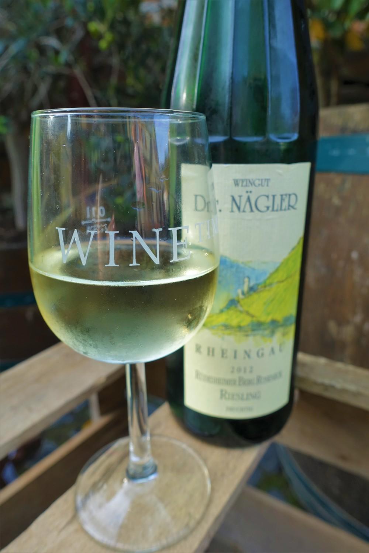 riesling wine in rudesheim
