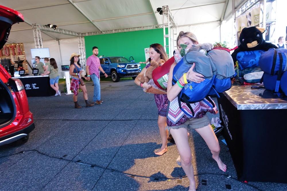 "Country 500 Festival- ""Adventure Awaits"" RAV4 Cargo Challenge"