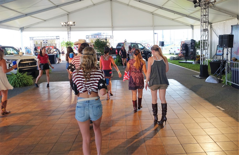 "Country 500 Festival- ""Adventure Awaits"" - Line Dancing"
