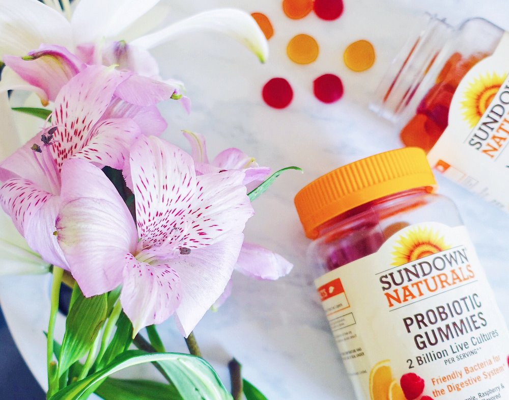 Sundown Natuals Probiotic Adult Gummy Vitamins