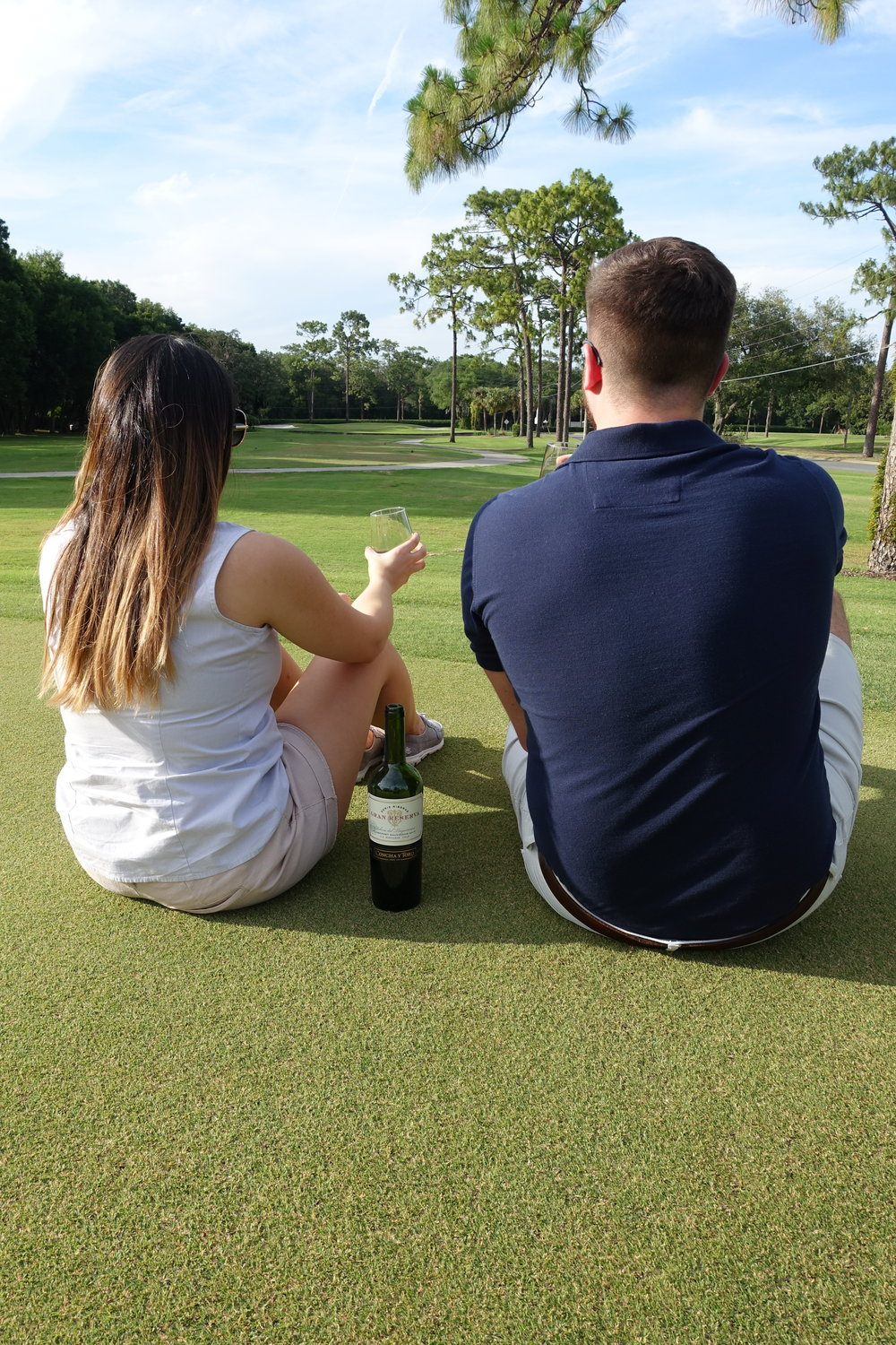 Golfing and Grand Reserva