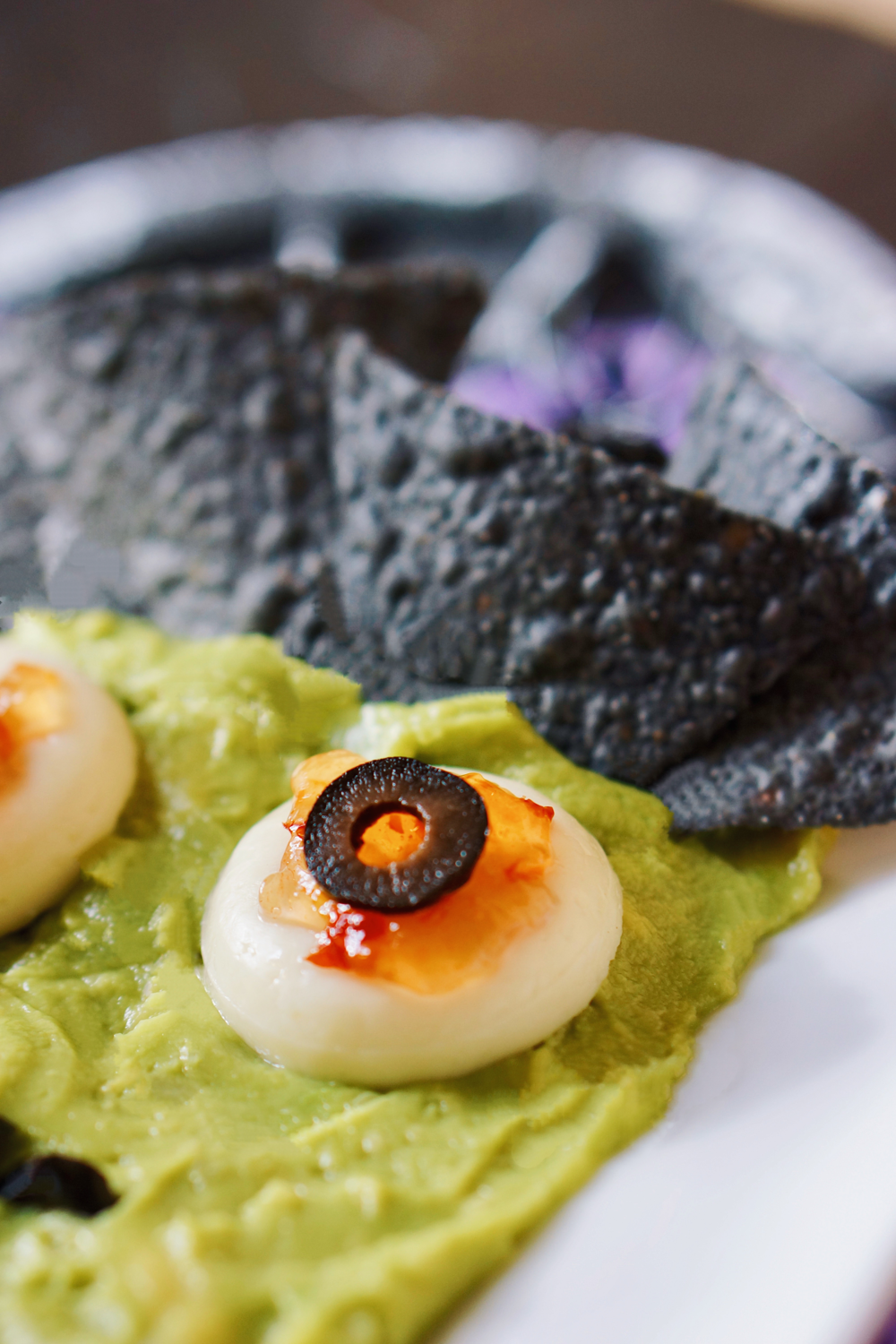 Halloween Themed Chips and Guac- Babybel