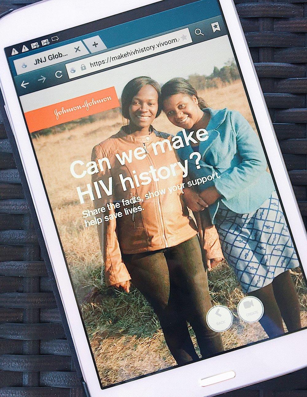 #MakeHIVHistory