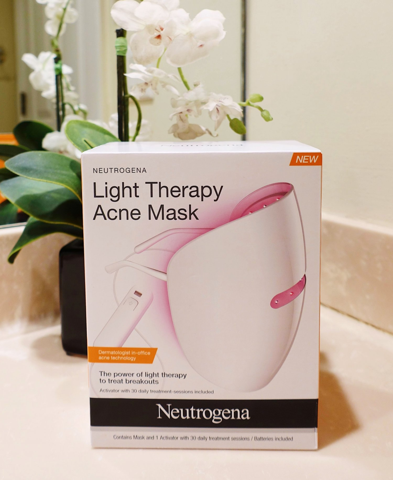 At Home Light Therapy With Neutrogena Metanoia Living