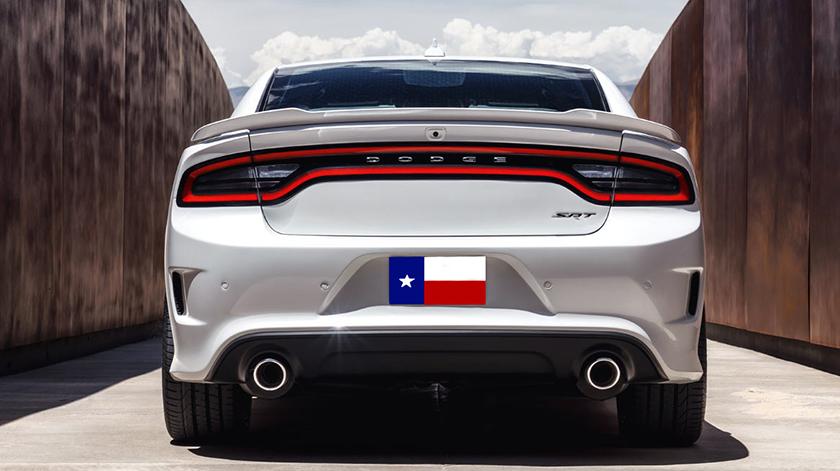 Dodge Charger Hellcat Spoiler Painted Rear Spoiler 2011-2015