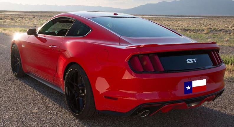 Ford Mustang Factory Lip Spoiler (2015+)