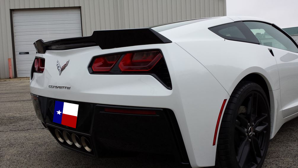 Corvette C7 Wickerbill Custom Spoiler (2014-2015)