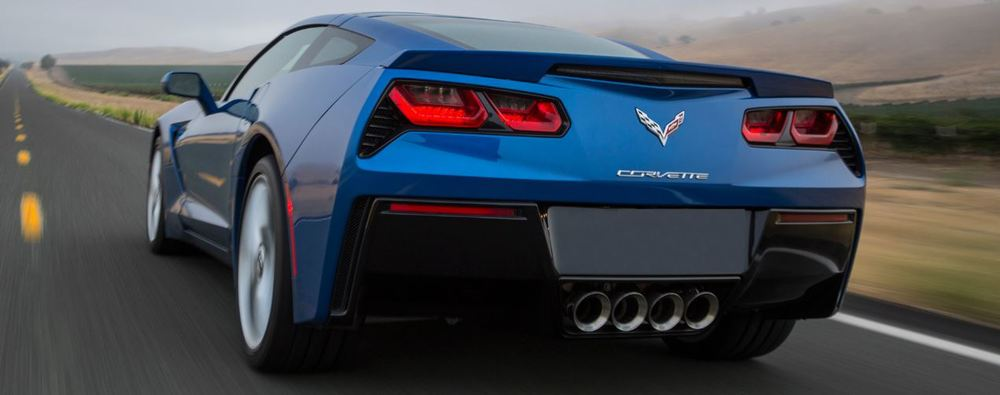 Corvette C7 Spoiler 2014+