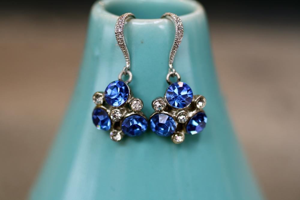 Mindy Bohmer VCON Vintage Something Blue Earrings_02.JPG