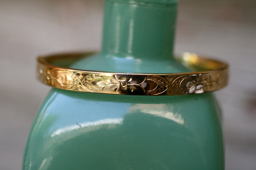 Gold-Filled Victorian Bracelet