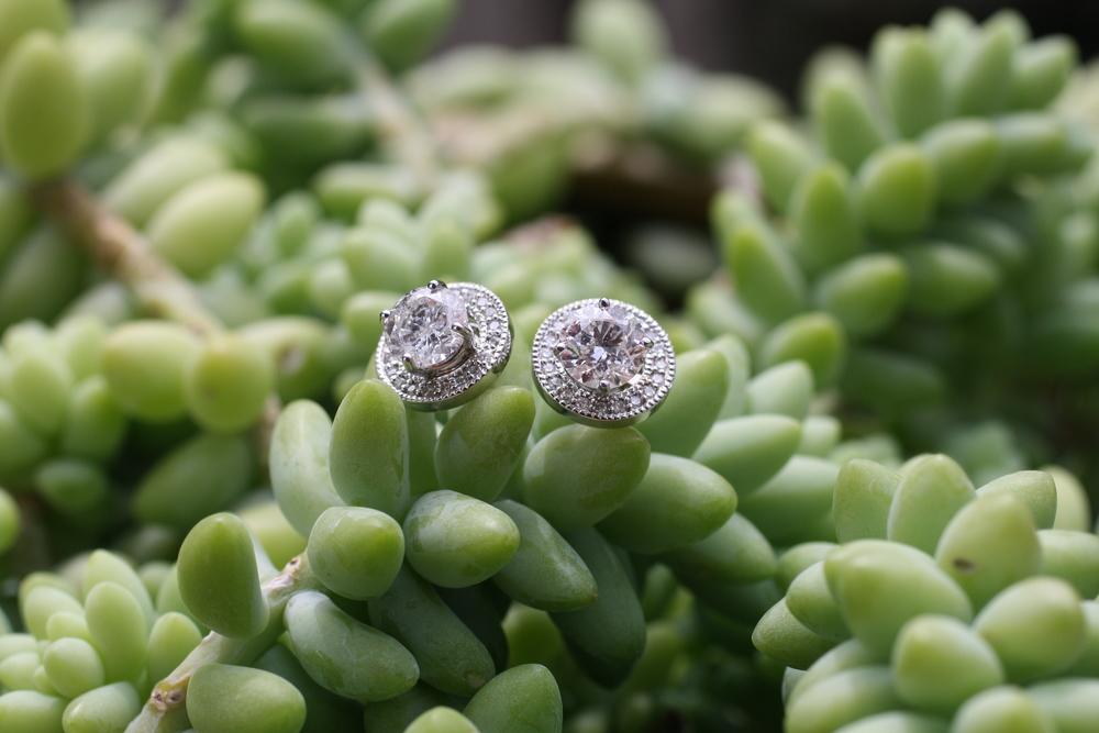 Anne Gold Diamond Halo Millsgrained WG Jacket Earrings_10.JPG