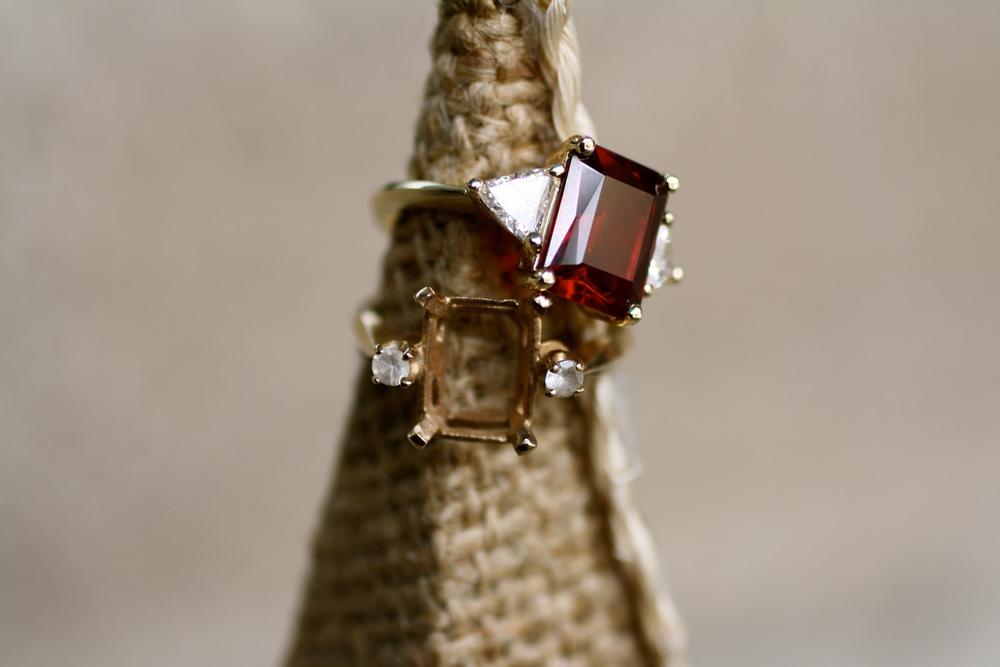 Jen Zindel Emerald Cut Garnet with Diamonds Before & After_08.JPG