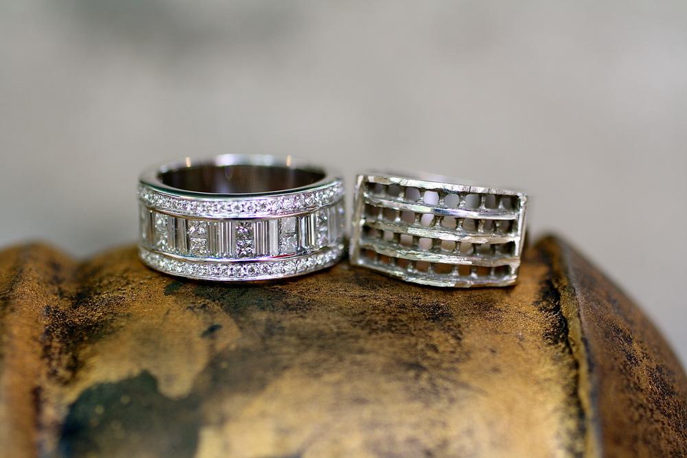 Sal & Kristine - Emerald Square Round White Diamond - WG Ring_08.JPG