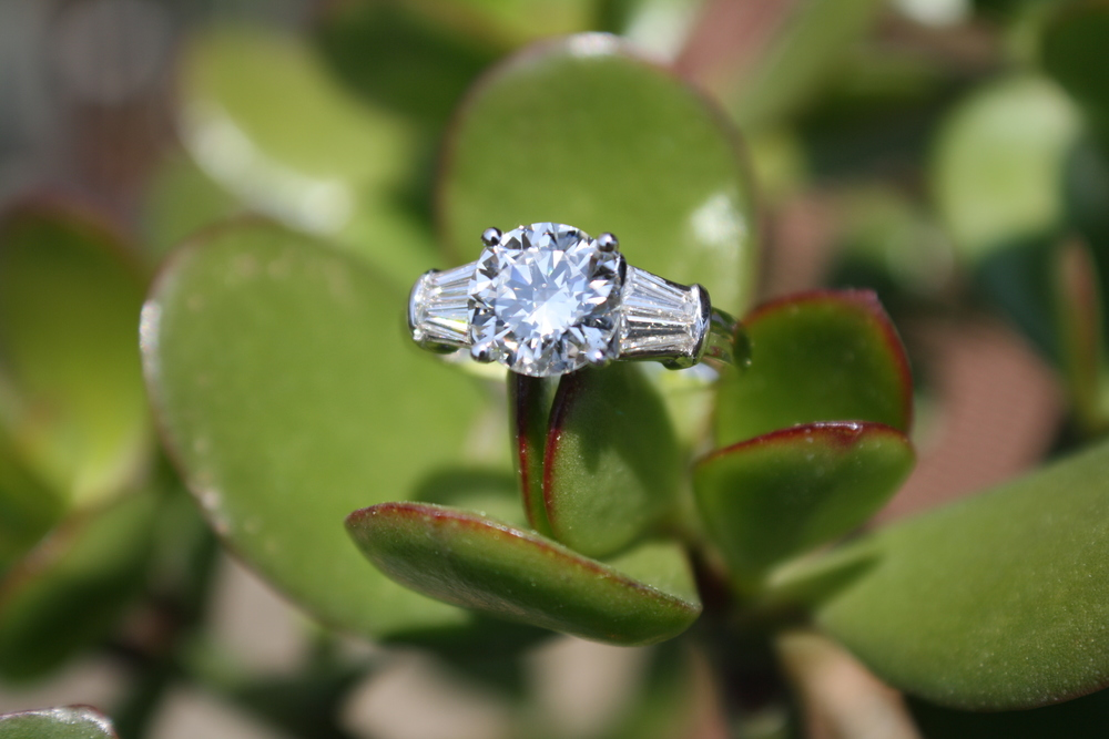 Diamond Engagement Ring with 4 Baguettes_28.JPG
