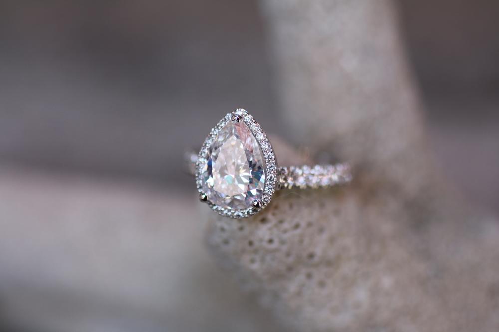 Tom -Massive White Pear Diamond - White Diamond Halo Shank - WG Ring_06.JPG