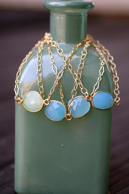 Oval Blue Aqua Chalcedony with GF Bezel and GF Adjustable Chain Bracelets_09.jpg