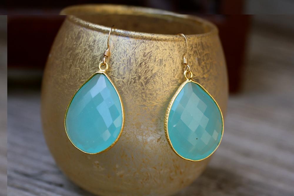 Blue Chalcedony Pear GPSS Drop Earrings_04.JPG