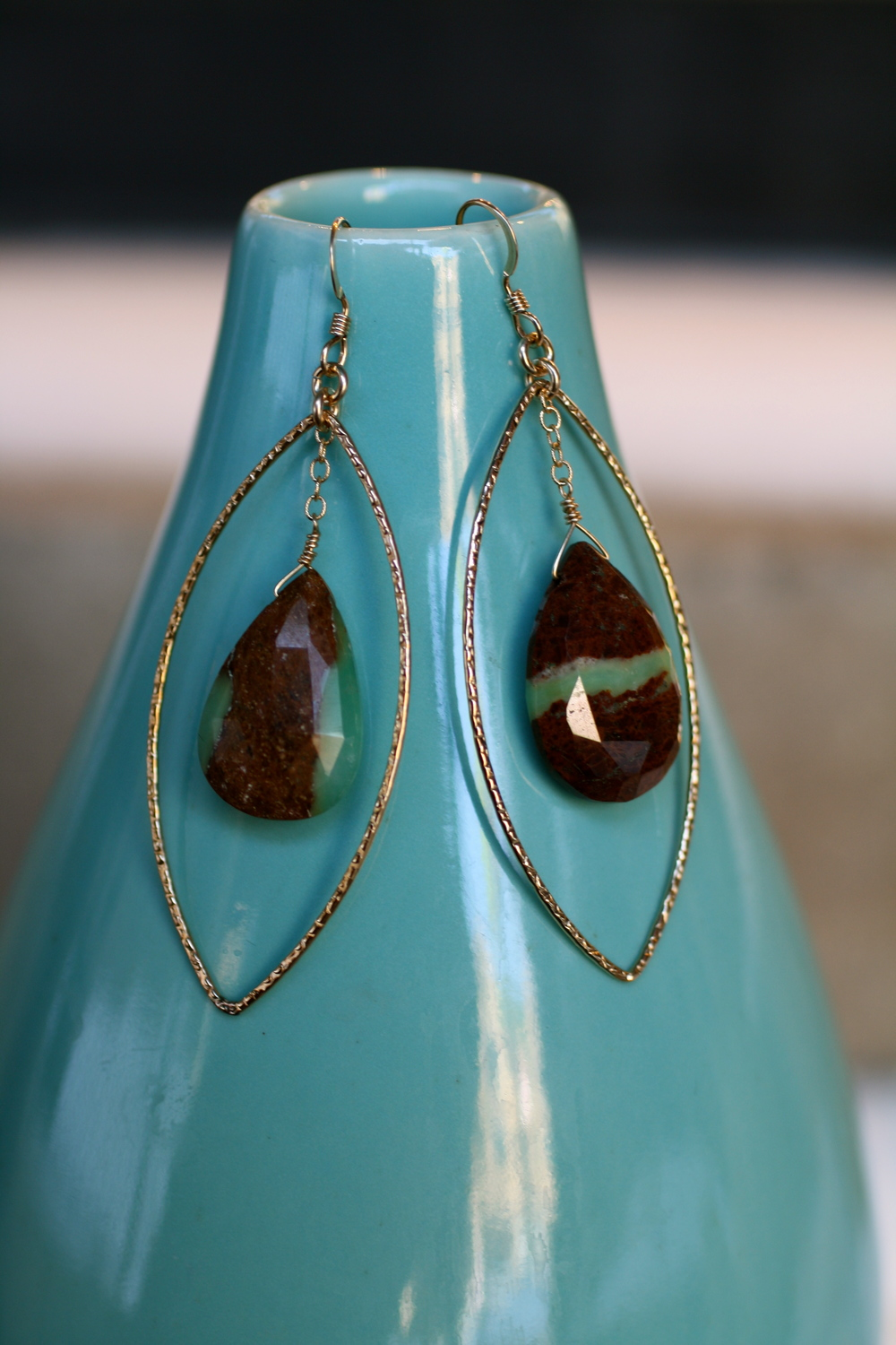 Eyes of the World Tear Drop Earring with Chrysoprase Dangle_08.jpg