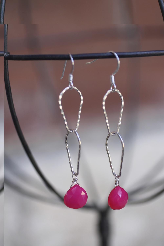 Pink Chalcedony Almond SS Mama Socks Earrings_09.jpg