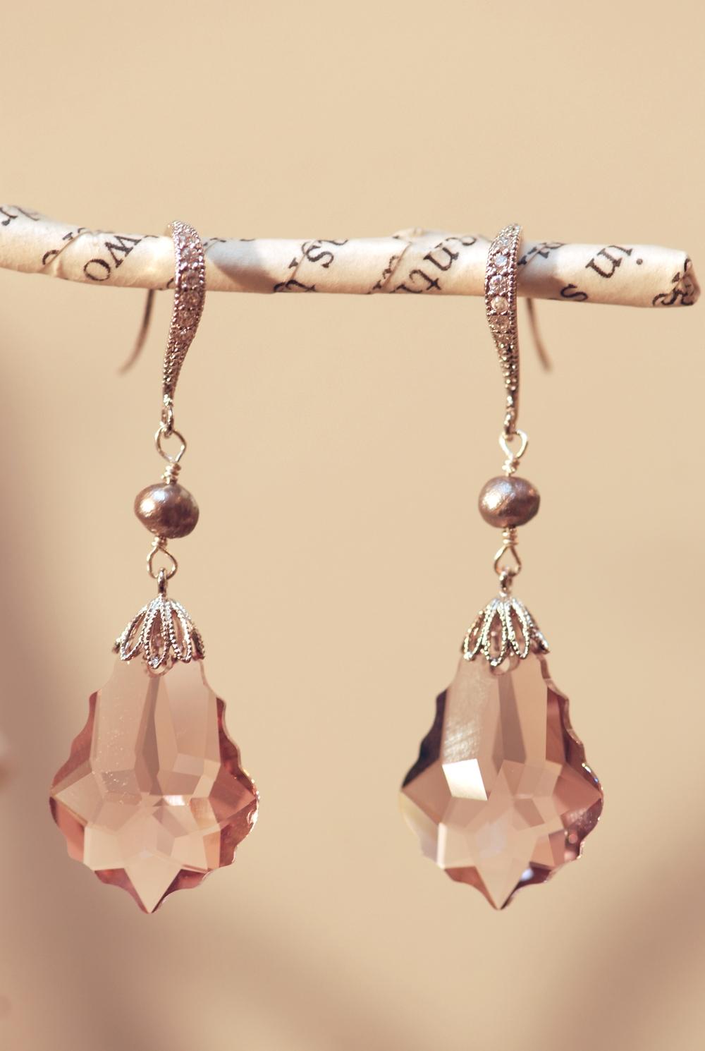 Pink Love Potion Swarovski Earrings 02.JPG