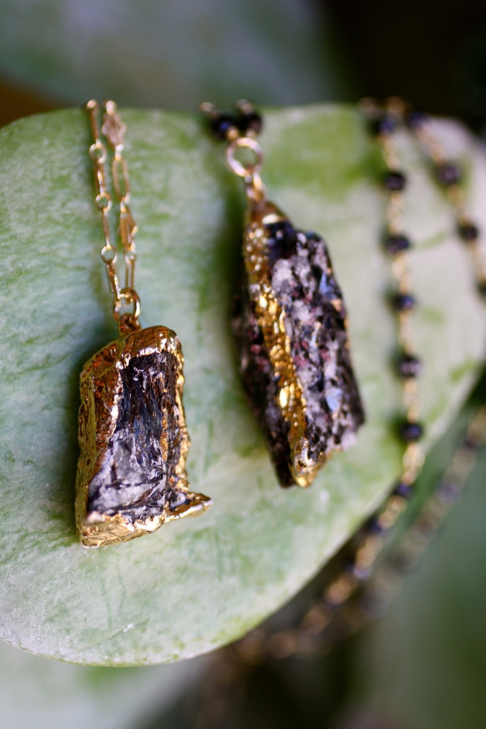 Astrophelite Gold Electroplated Druzy GF Chain Necklaces_19.jpg