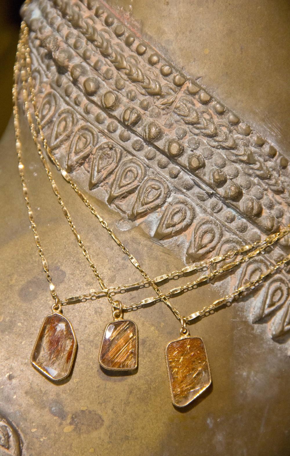 Rutilated Quartz Geometric Pendants GF Vintage Inspired Chain Group Shots Necklaces_01.jpg