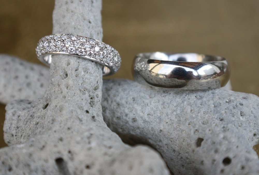 Emily Rousey and Jason Parks Wedding Bands 3 Row Diamond White Gold and Platinum_26.JPG
