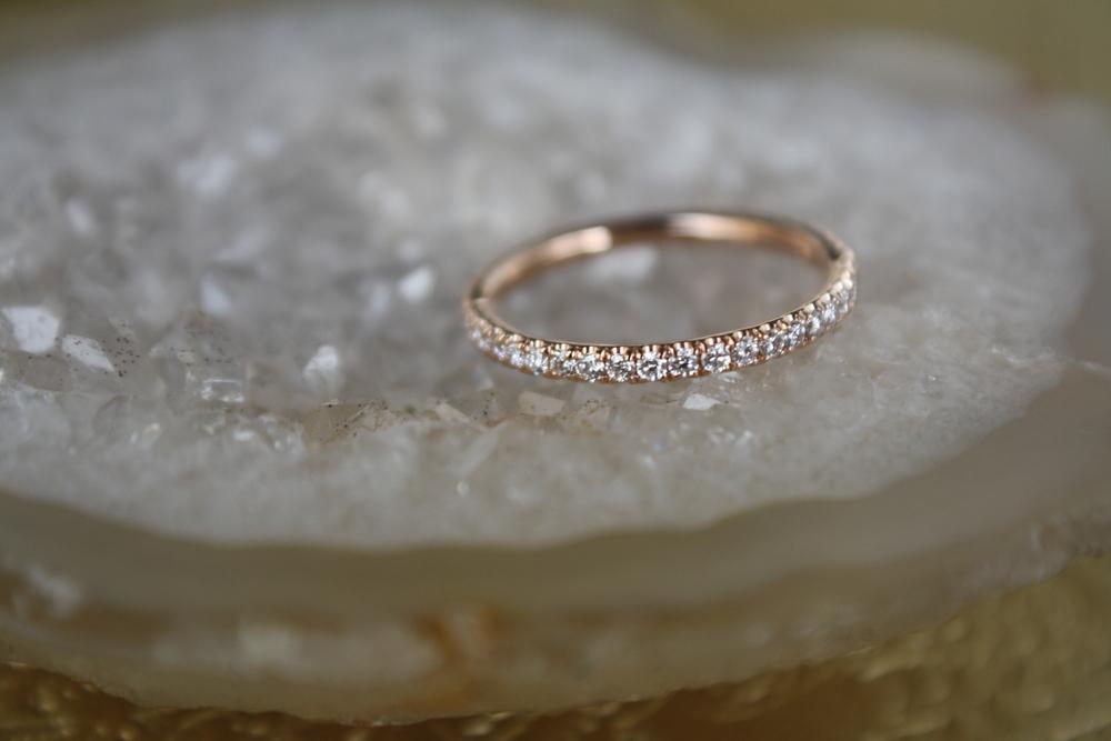 Michele Dubisson Rose Gold Diamond Eternity Wedding Band_09.JPG