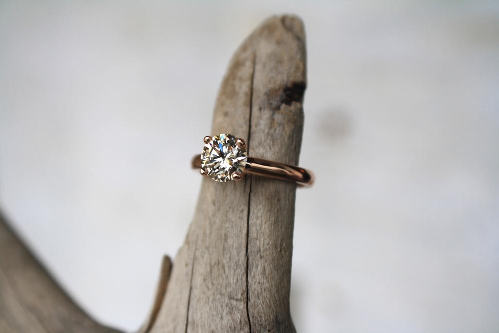 Joe Harkin Solitare Diamond on Rose Gold Band_17.JPG