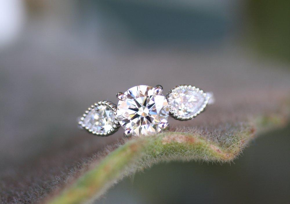 Reva Minkoff 3 Stone Diamond WG Engagement Ring_05.JPG