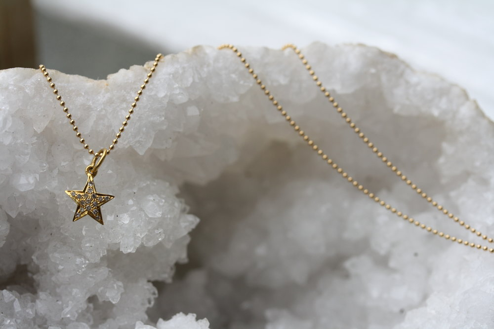 YG Star Pave Diamond Necklace 14KY_01 copy.JPG