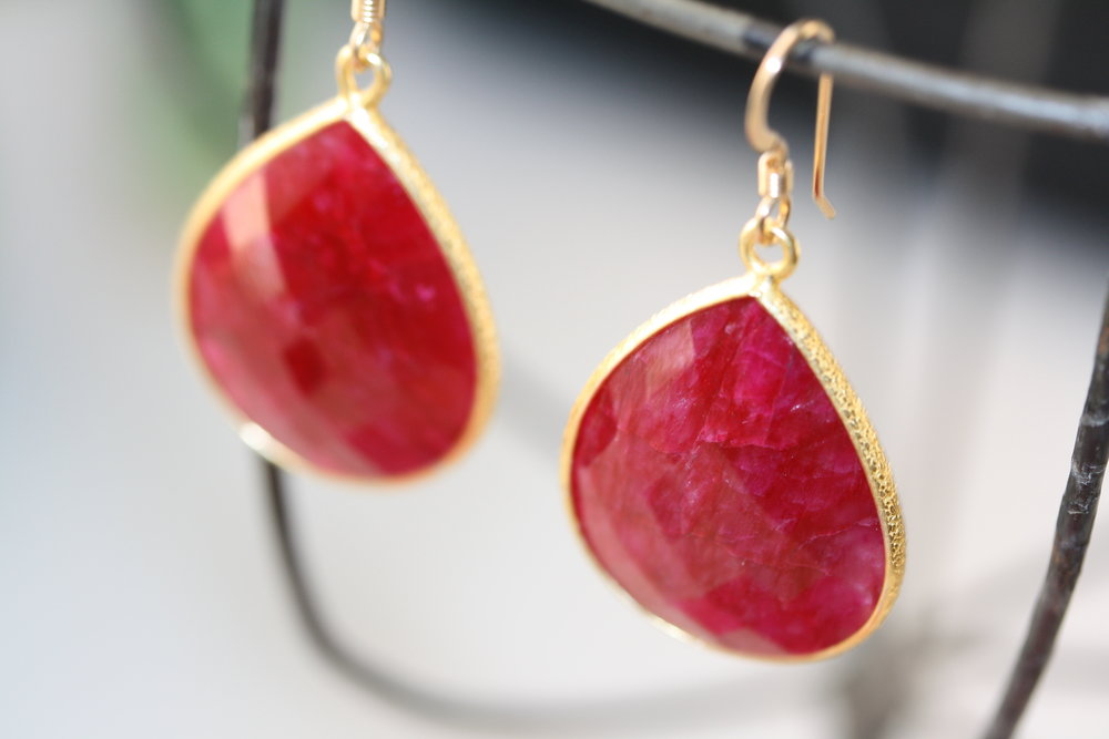 Grade B Ruby Pear Shaped Earrings_04 copy.JPG