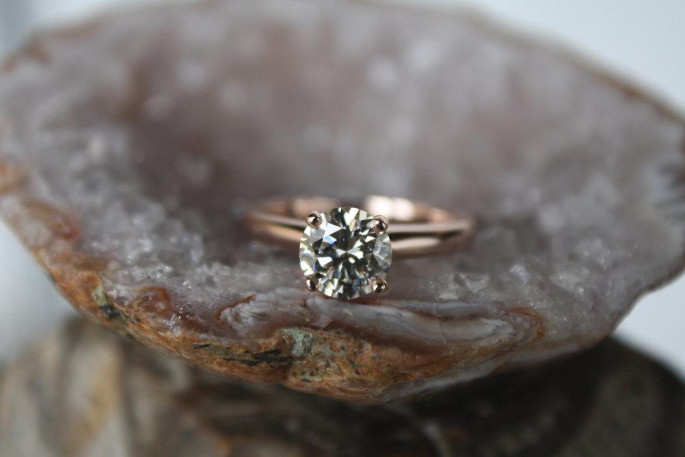 Joe Harkin Solitare Diamond on Rose Gold Band_61.jpg