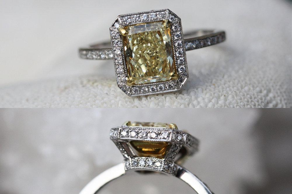 Canary Diamond Halo Ring POV Collage.jpg
