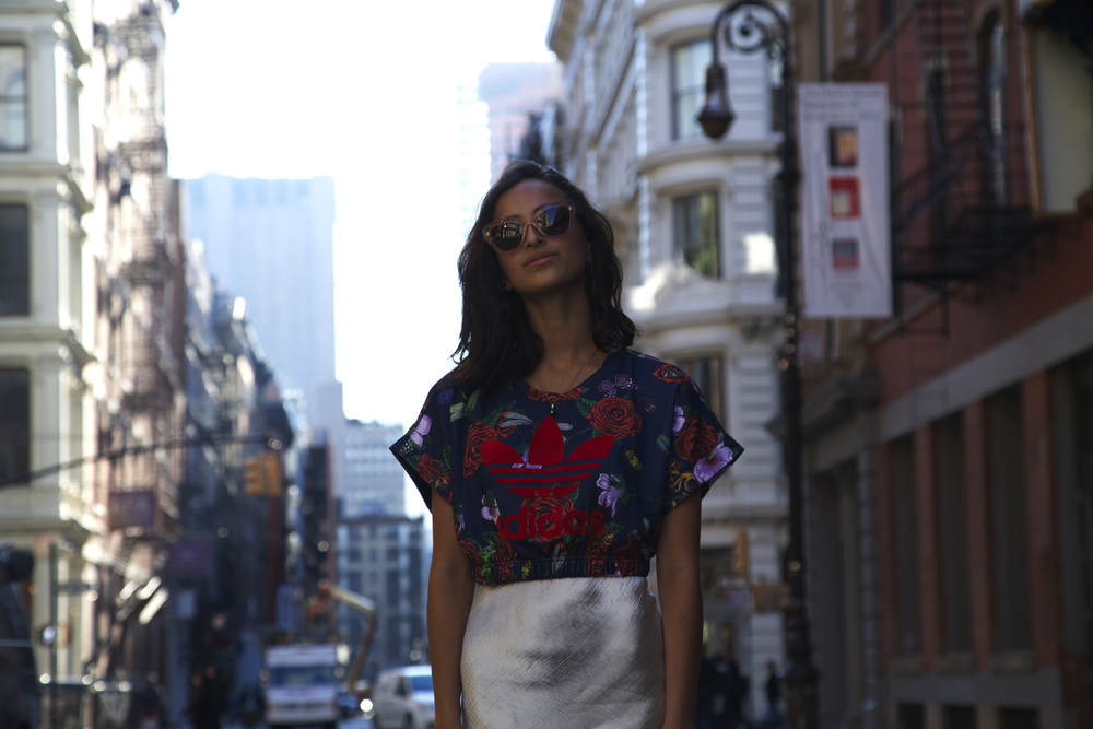 Adidasx Rita Ora ,Zara,Miu, Miu// Soho, Manhattan