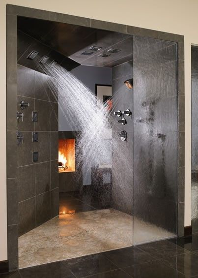 I'm still waiting for someone to request that we build them this shower. Any takers?