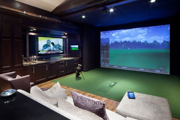 The golfer in us really want to see this basement come to life! Of course you may have visitors in your basement all the time, particularly us.